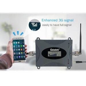 Image 5 - Lintratek מהדר 3G 2100Mhz מגבר אות 3G UMTS מגברי להקה 1 WCDMA אות מהדר 65dB מיני מגבר LCD Disaplay מלא קיט