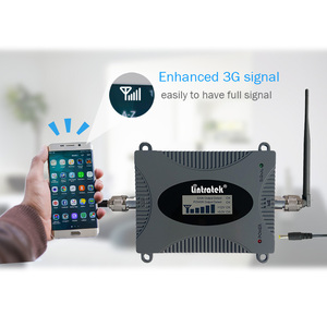 Image 5 - Lintratek repetidor 3g 2100 mhz impulsionador de sinal 3g umts banda ampli 1 wcdma repetidor de sinal 65db mini impulsionador lcd display kit completo