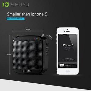 Image 3 - SHIDU S613 אלחוטי נייד קול מגבר UHF מיני אודיו רמקול USB Lautsprecher למורים Tourrist מדריך מורה ליוגה