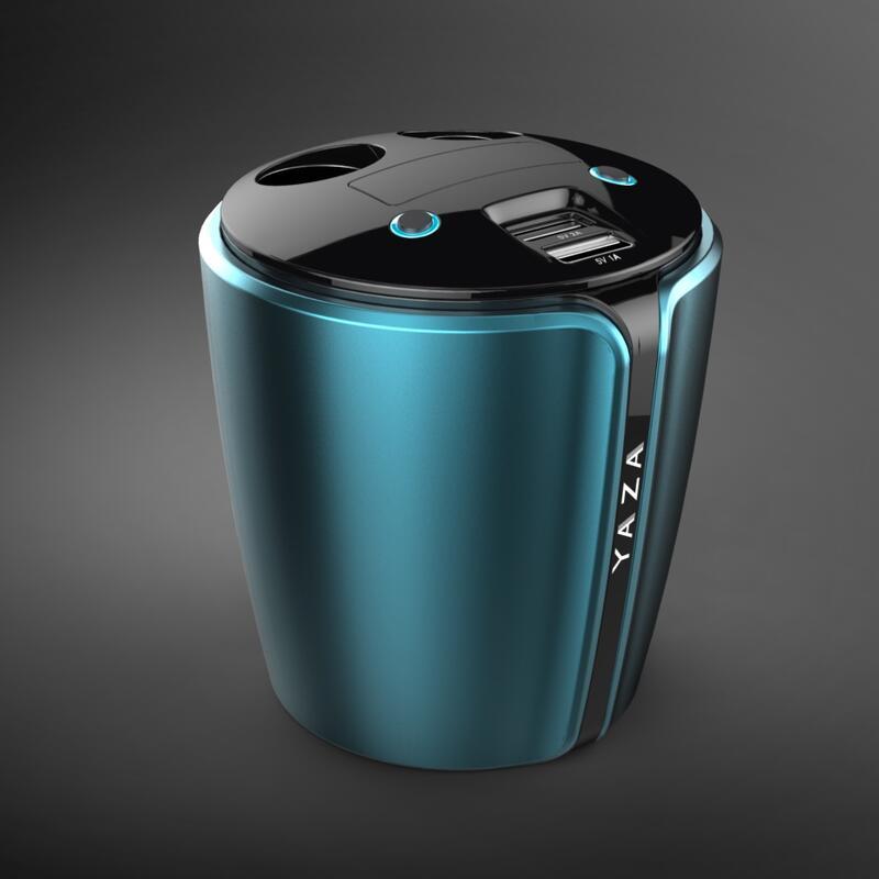 Yzd-v9 12-24 В 3.1a выход USB Автомобильное зарядное устройство с Напряжение Текущий Дисплей Quick Charge чашки автомобильный держатель Автомобильный де…