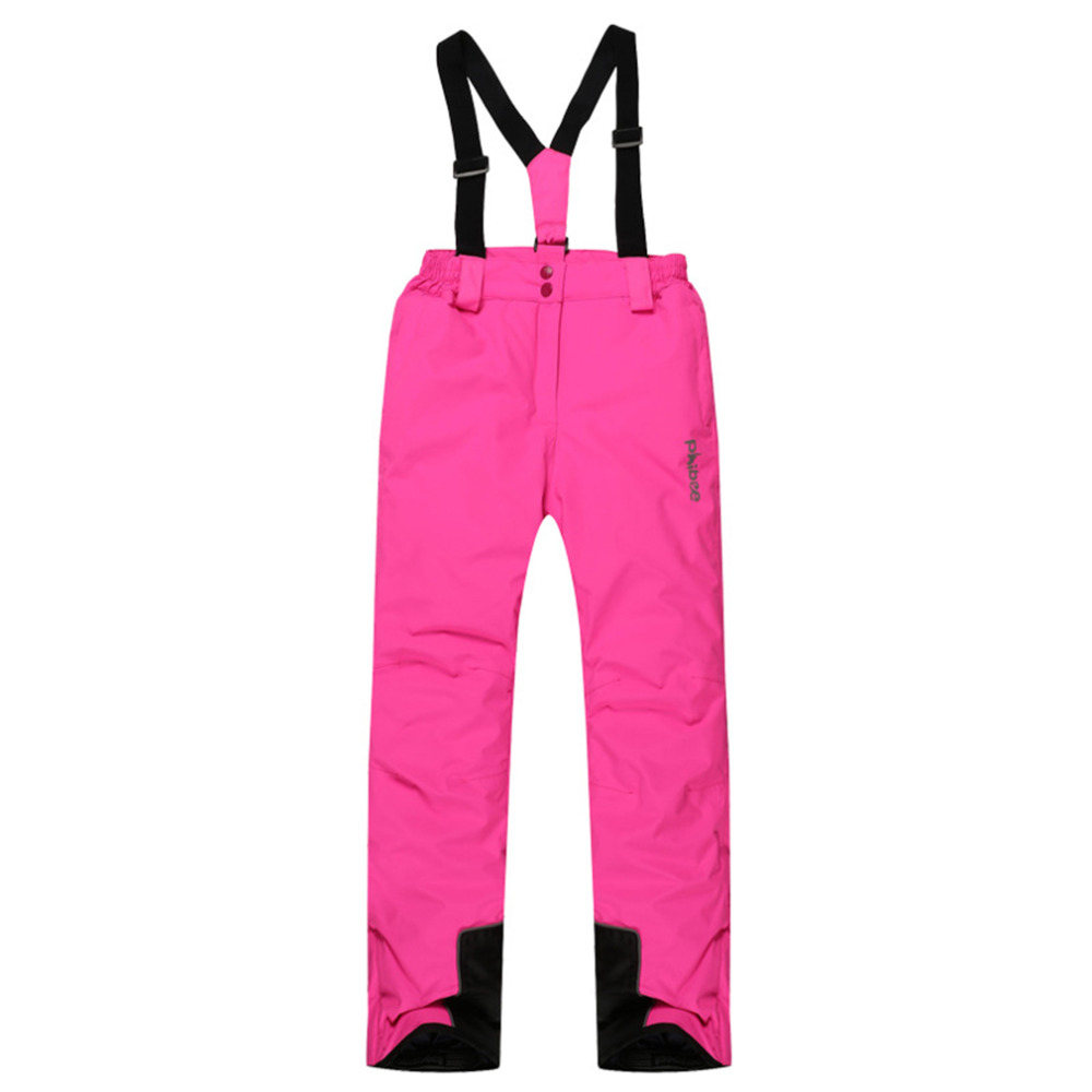 Winter Warm Kids Girl Ski Snow Pants Trousers Snowsuit Snowboard Pants new caranfier winter men jeans classic gray blue trousers brand clothing 2017 new fashion casual trousers male quality pants 36 38