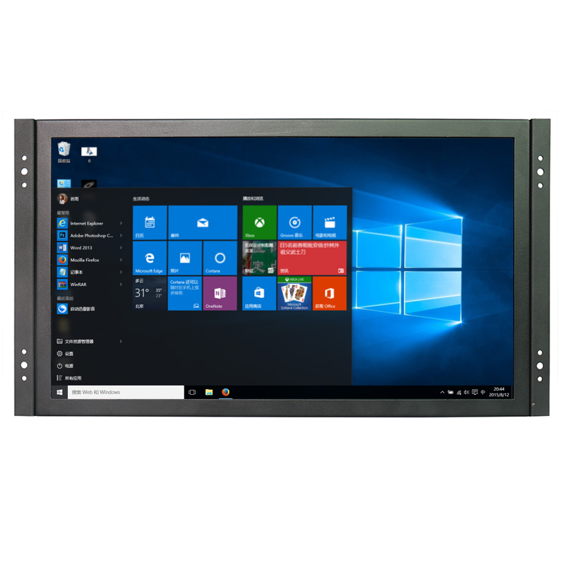 Industrial Metal Shell 15.6 Inch Open Frame Monitor 1366*768 Resolution with VGA/HDMI/USB/AV/BNC Two Speakers 10 10 1 lcd monitor display vga usb av hdmi bnc interface metal shell embedded frame industrial control lcd monitor 1366 768