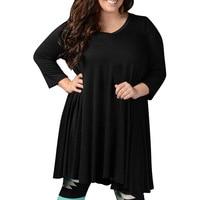 6XL 7XL 8XL Big Size Loose Women Dresses Autumn Casual Women Plus Size Dress Black Wine