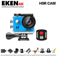 100 Original EKEN Ultra HD 4K Video Sports Cam 2 Inch Screen 1080p 60fps Action Camera