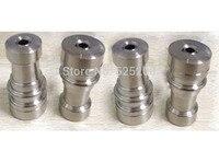 Frete grátis universal domeless titanium prego 14 & 18mm para fumar grade2 altamente qualidade