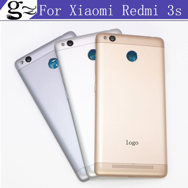 2pcs For Redmi3S Housings Offical Original Cover for Xiaomi Redmi 3S Case Replace Battery Housings Back Cover for Redmi 3 S