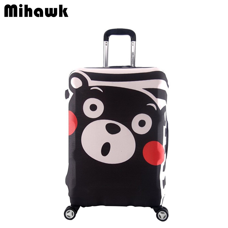 Cute Bear Elastic Luggage Protective Cover For 18-32 Inch Trolley Suitcase Cartoon Dust Bag Travel Accessories Supplies Produts