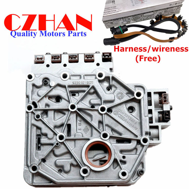317c21f6087 Automatic Transmission Valve Body w  Harness  wireness For Volkswagen Golf  MK4 Beetle 01M325283A 01M325039F 01M325105F 01M