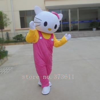 Hello kitty Costumes Hello kitty Mascot Costume Hello Kitty Fancy Costume Kitty Cosplay Camival Costume Free Shipping фото