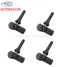 4 pcs New TPMS Tire Pressure Sensor For Dacia Duster Lodgy Sandero Renault Kangoo Clio Captur Smart 407009322R