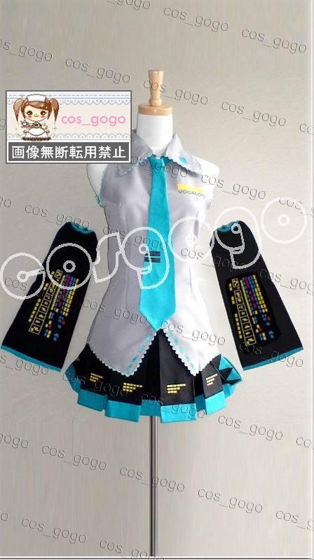 Vocaloid Cosplay Hatsune Miku Cosplay conjunto completo de trajes - Disfraces - foto 5
