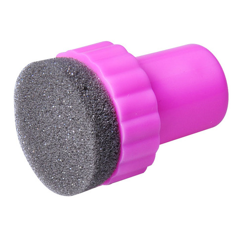 1 Set DIY Nail Art Design Stamping 1 Stamper + 4 Changeable Sponge Shade Transfer Makeup Beauty Tools Karachi