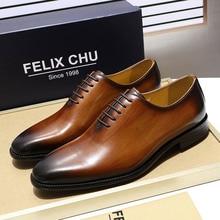 Мужские туфли-оксфорды ручной работы из натуральной кожи с открытым носком; модельные туфли; цвет коричневый, черный; обувь, раскрашенная вручную; Мужская официальная обувь; мужская обувь