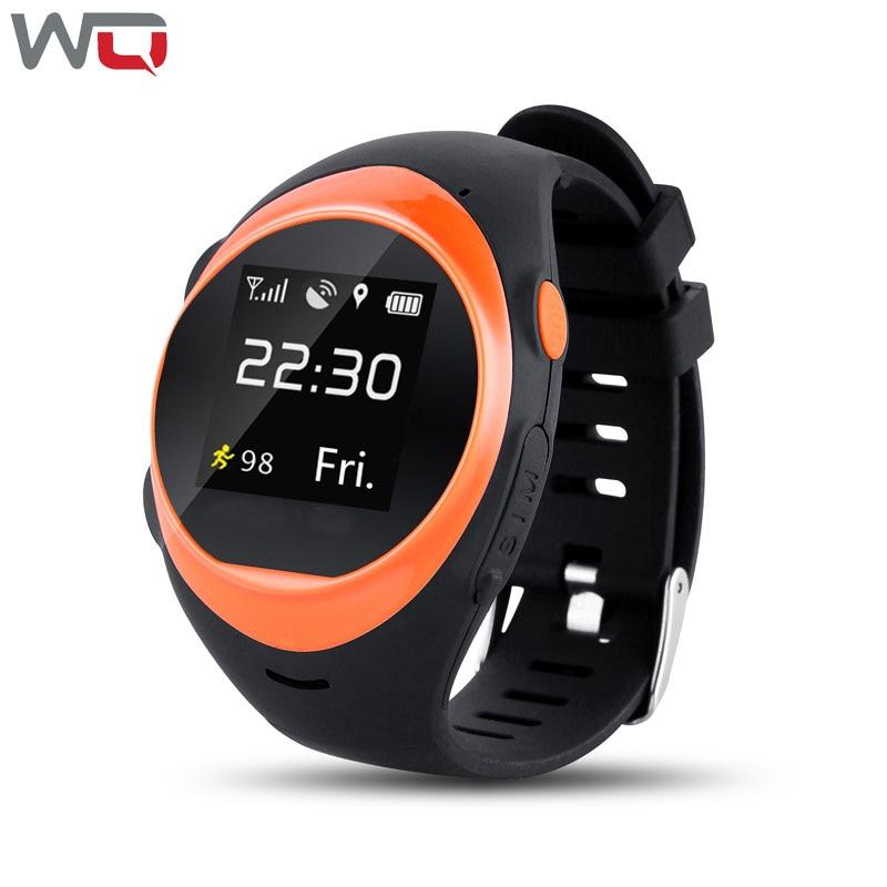 где купить WQ S888A Smart Watch For Old Men and Kid SOS GPS Positioning Tracking Anti-falling Alarm Smartwatch SIM Card Baby Smart Watch дешево