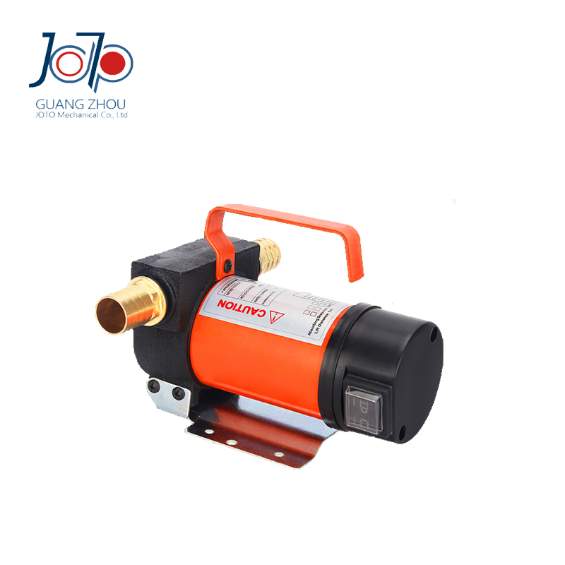 200W 12V DC Cheap Portable Highly Function Dual-purpose Inlet Electric Oil Pumping Refuel Pump Self-priming Pump  12v dual purpose inlet electric self priming diesel oil refuel oil pump with standard 2m power line and 8m oil tube