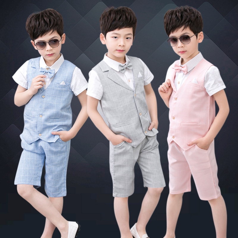 Summer Boys Suits For Weddings Boy Formal Party Christening Wedding Tuxedo Waistcoat Bow Tie Suit 3Pcs Sets Y736 Summer Boys Suits For Weddings Boy Formal Party Christening Wedding Tuxedo Waistcoat Bow Tie Suit 3Pcs Sets Y736