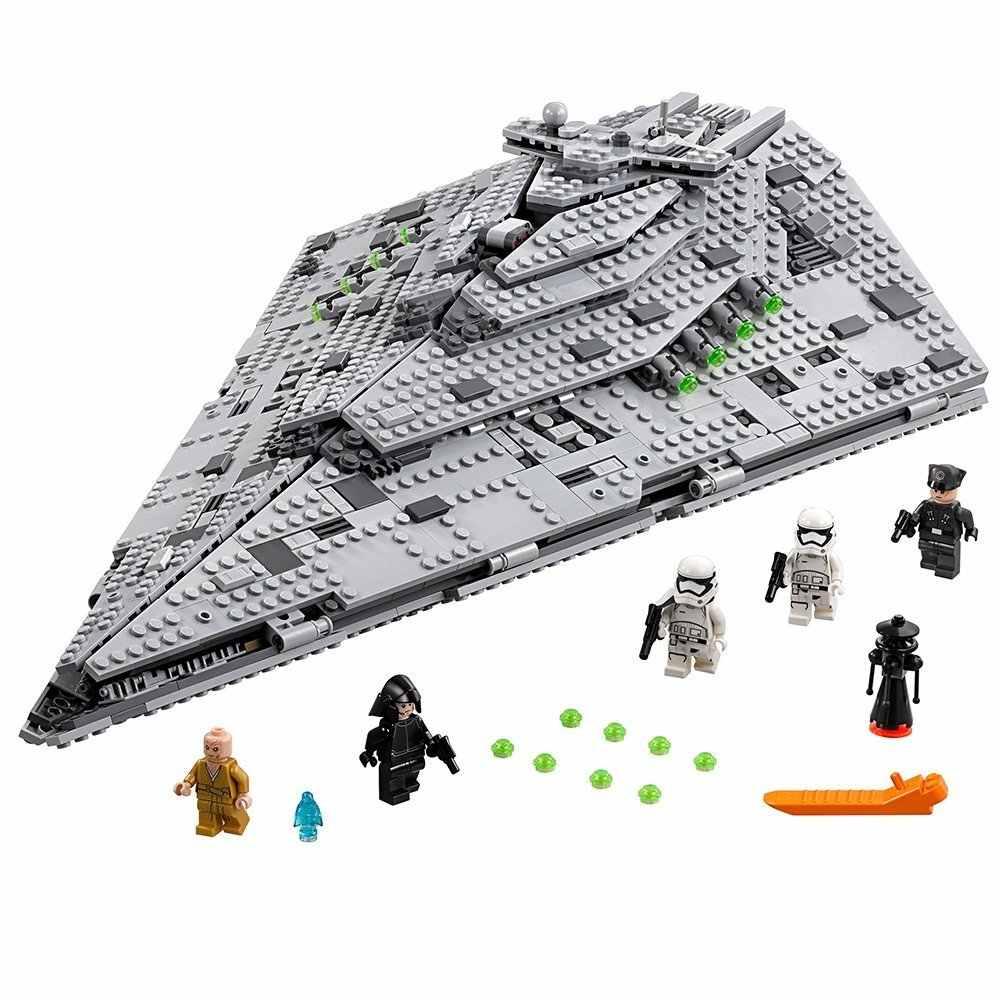 Bela A Primeira ordem Star Destroyer 1585Pcs Star Wars Brinquedo Blocos de Construção de Brinquedos Para As Crianças compatíveis com Brinquedos Starwars