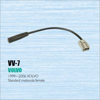 Car Radio Antenna Adapter Cable Wire For Volvo 1999 2006 Aftermarket Stereo CD DVD GPS Installation