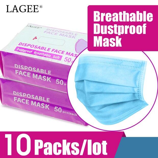 NAGARAKU 500 stücke Einweg Medizinische Mund Chirurgische Gesicht Maske für künstler verwenden weiß blau farbe Mund maske Atmungsaktive Filterung luft-in Falsche Wimpern aus Haar & Kosmetik bei AliExpress - 11.11_Doppel-11Tag der Singles 1