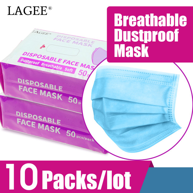 NAGARAKU 500pcs Disposable Medical ปากหน้ากากผ่าตัดสำหรับศิลปินสีขาวสีฟ้าสีปากหน้ากากกรอง air-ใน ขนตาปลอม จาก ความงามและสุขภาพ บน AliExpress - 11.11_สิบเอ็ด สิบเอ็ดวันคนโสด 1