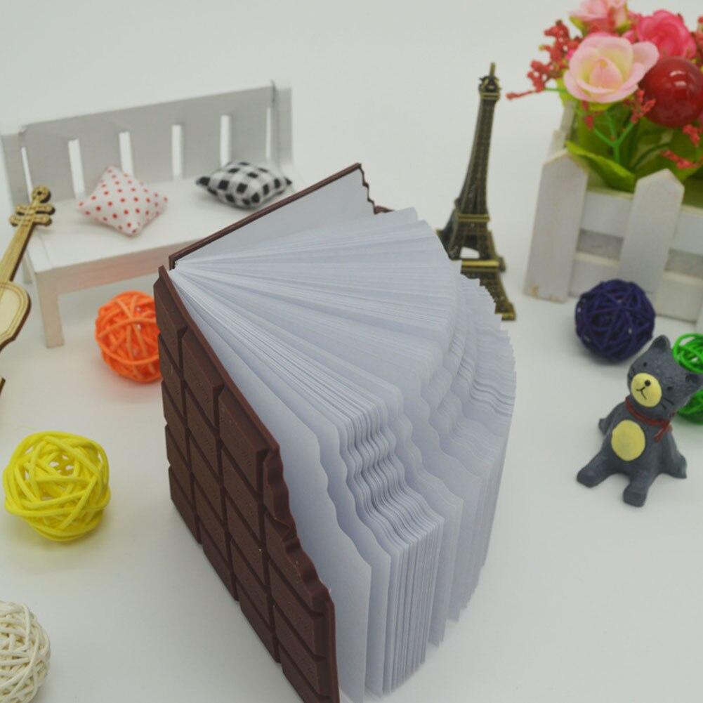 1 Pcs Beste Förderung Bequem Erstellen Schreibwaren Notebook Diar Schokolade Diy Abdeckung Notepad Schule Geschenk Material Escolar Office & School Supplies
