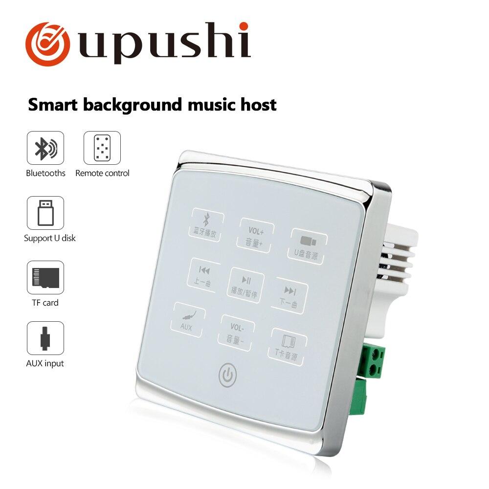 Zielstrebig Für Verkauf Oupushi A1 In Wand Verstärker Audio System Bluetooths Fernbedienung Fortgeschrittene Technologie üBernehmen Beschallungsanlage/installation Klang