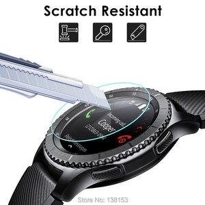 Image 4 - 100 adet için temperli cam Garmin Fenix 6X 6S yuvarlak akıllı saat Fenix 6 koruyucu film D35.5mm D40.5mm D37mm ekran koruyucu