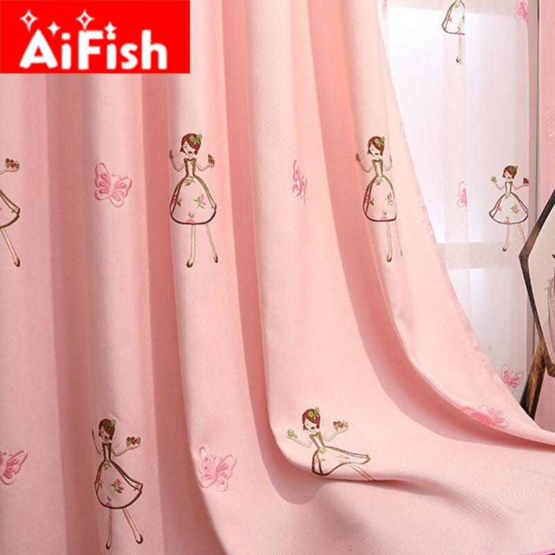Achetez en Gros rose bébé rideaux en Ligne à des ...
