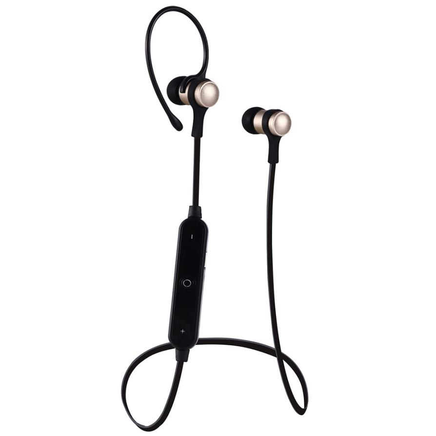 Bluetooth earphone 4.1 Headphone for iPhone For Samsung Metal Headset Wireless Stereo Music Handsfree Hifi Original Sport 21DEc7 high quality 2016 universal wireless bluetooth headset handsfree earphone for iphone samsung jun22
