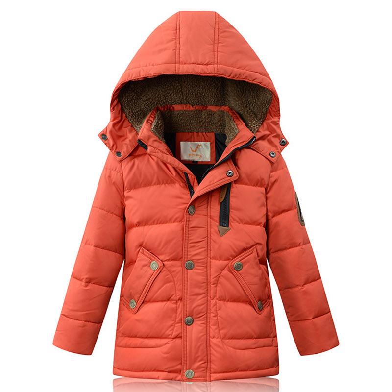 Thicken children winter jacket mid-long style Down & Parkas fashion boy winter snowsuit flannel hood girls warm jackets 2017 new 2015 new hot winter thicken warm woman down jacket coat parkas outerwear hooded splice mid long plus size 3xxxl luxury cold