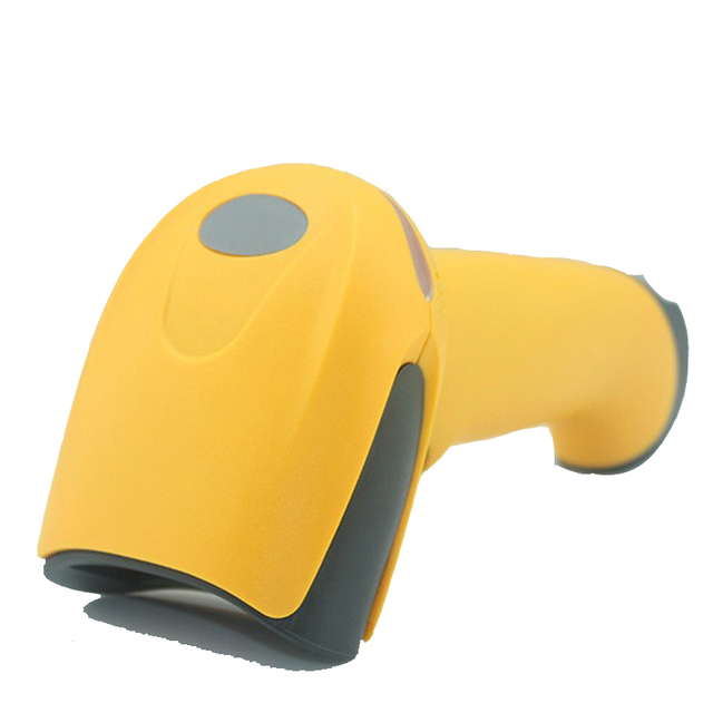 HS-2028 Wireless 1D barcode scanner with high quality portable laser scan gun for supermarket, store, shop, mall etc