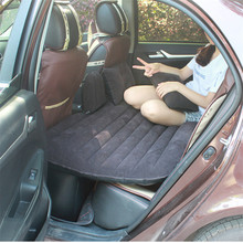 Hot Air Mattress Inflatable Camping Car Back Seat Sleeping Bed Inflatable Mattress Car Shock Traveling Essential Goods V3498