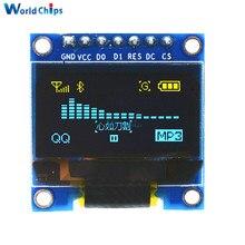 Led-Display-Module Oled Lcd SPI Arduino 128X64 Serial Yellow Blue DC I2C IIC for 3V-5V