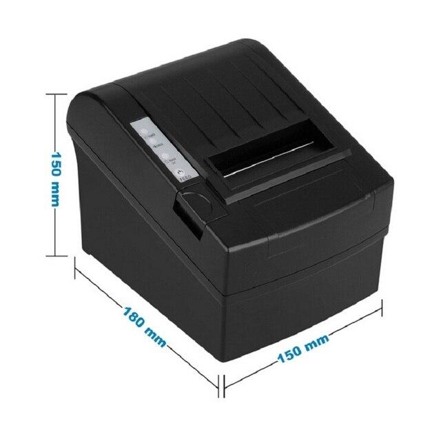 Тепловой pos принтер чеков 80 мм 8220 Серийный/USB/Ethernet порт с резаком беспроводной wi-fi принтеры для ресторана