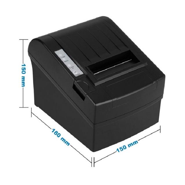 Pos impresora térmica de recibos 80mm 8220 Serie/USB/puerto Ethernet con el cortador inalámbrica wifi impresoras para el restaurante