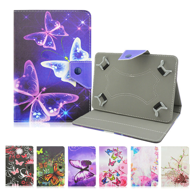 Universal 10 inch Tablet PU Leather Case Cover For Tablet Irbis TW21 10.1 inch Android Tablet bags+Center Film+pen KF492A butterfly pu leather stand case cover for tablet irbis tx12 10 1 inch universal 10 inch tablet cases center film pen kf492a