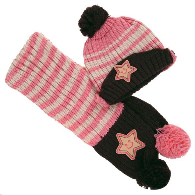 Star Baby Skullies & Beanies Scarf Hat Set