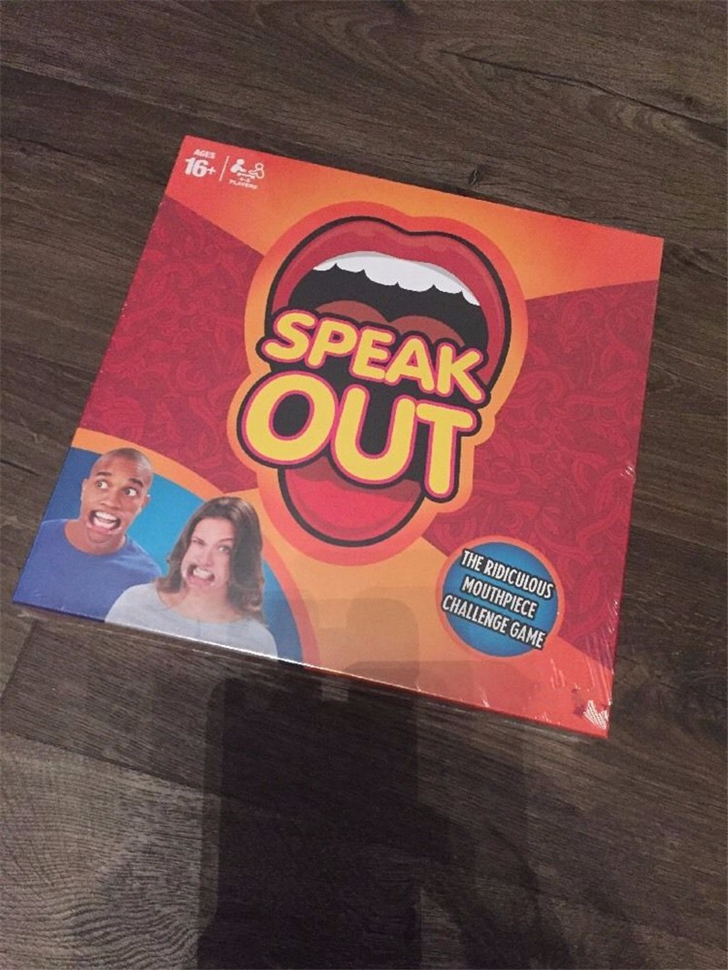 Fun 1pcs speak out game toy best selling board game interesting party game toy antistress (3)
