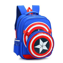 Marca de moda de La Escuela Mochila de Viaje Vengadores Capitán América de Nylon Bolsas de Hombro Bolsas de Libros para Niños Muchacha de Los Niños Mochila 130280