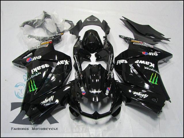 Carenagens para Kawasaki Ninja ZX 250R kit 250 2008 2009 2010 2011 2012 2013 2014 EX250 08-14 kits carenagem SUK 2505