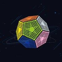 Высокое качество 9*9*9 профессиональный 12 Сторон конкурс куб магический куб головоломка Развивающие игрушки для детей