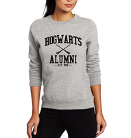2016 Autumn Alumni Mike Harry Potter Hogwarts Magic Camisetas Inspired American Apparel Harajuku Hoody For Women