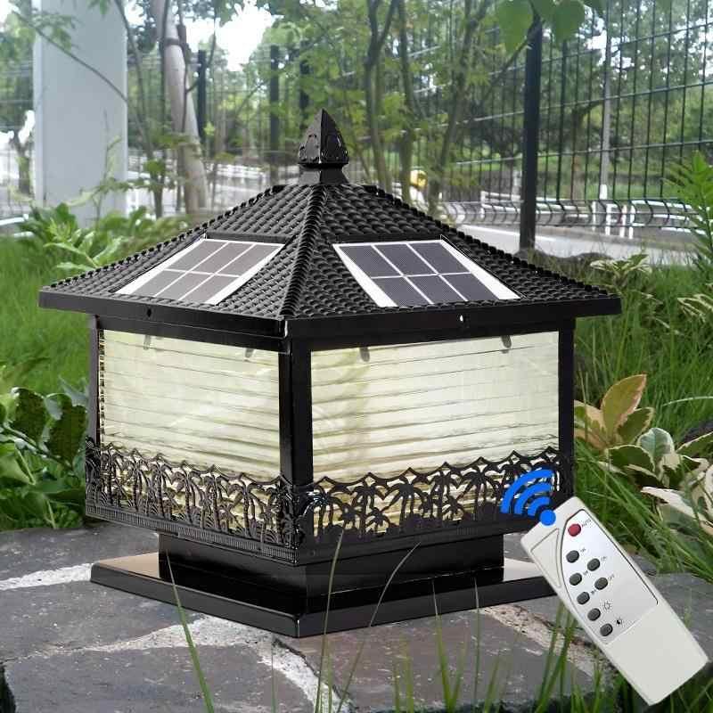 Kerst Huisjes озеленение фонарь на столб светодиодный фонарь на солнечных батареях Открытый Terraza Y Jardin Decoracion пейзаж освещения