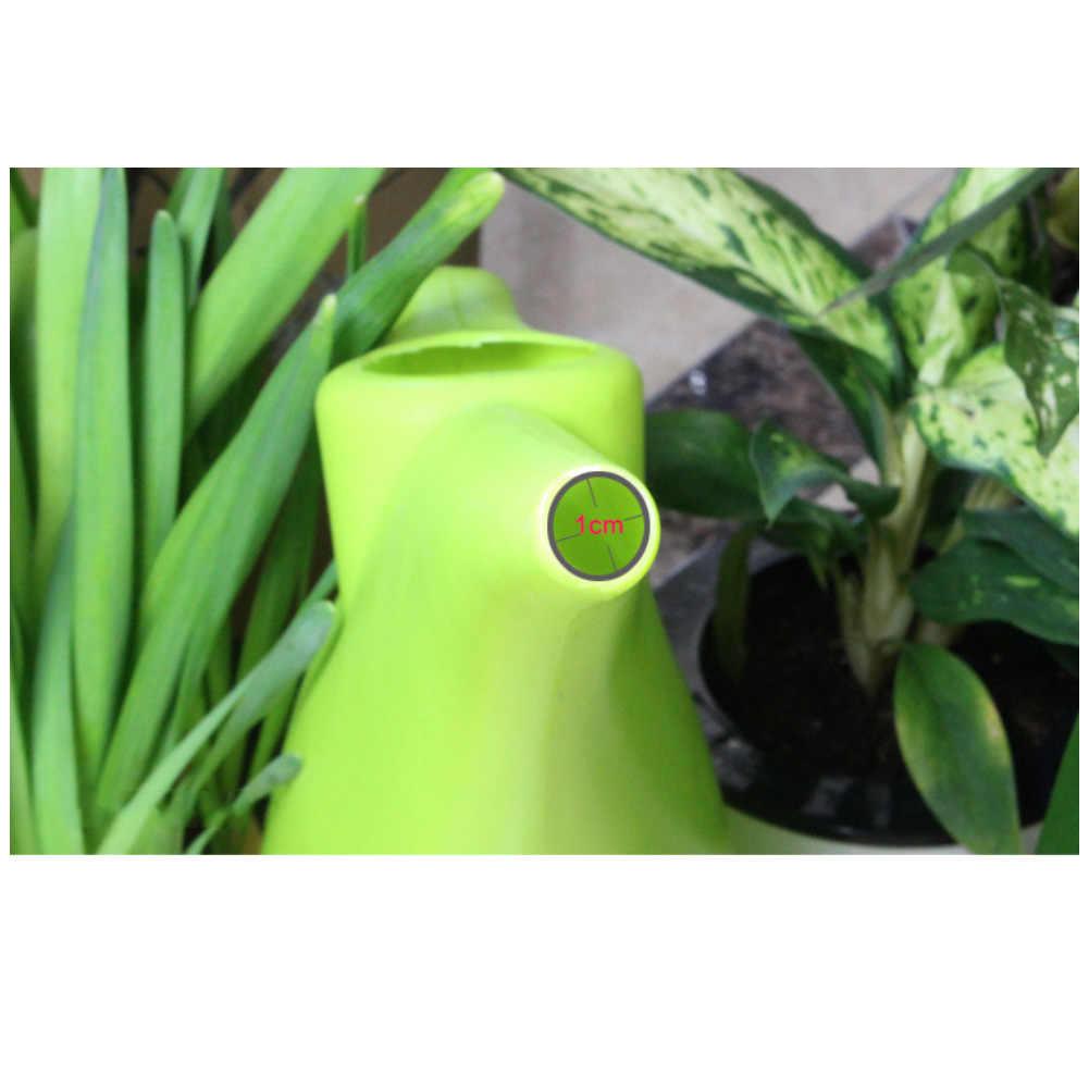 قدرة كبيرة البلاستيك طويلة صنبور غلاية أداة حديقة أنيقة زهرة النباتات أوعية ري الرش يمكن وعاء الحاويات حامل الساخن