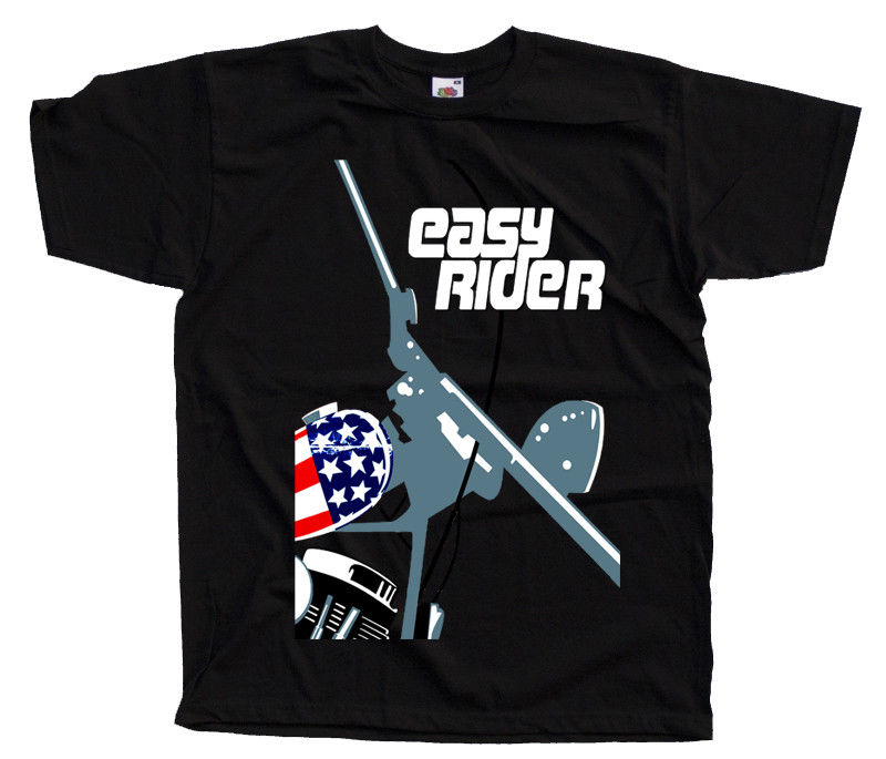 Easy Rider V1 Movie Poster T Shirt All Sizes S To 4Xl Peter Fonda Dennis Hopper