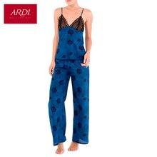 Пижама из шелка с хлопком ARDI