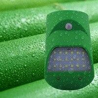 водонепроницаемый солнечный свет инфракрасный свет бамбуковые трубки форма движения сенсор + светло управление бра открытый светодио дный лампы освещения