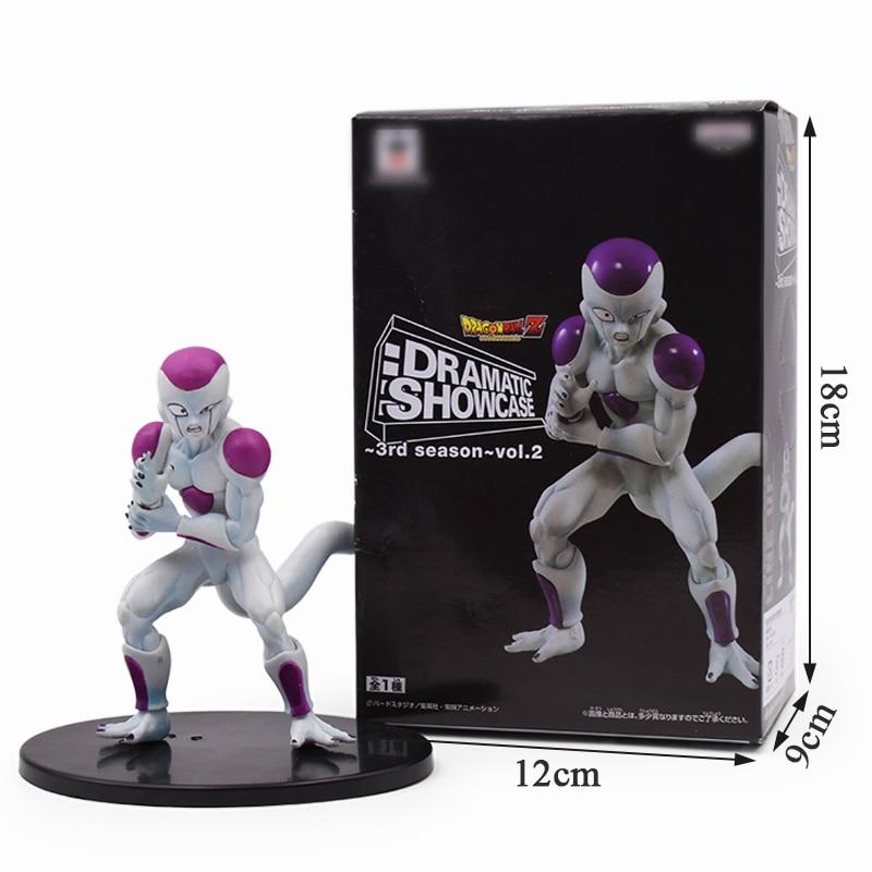 12cm Dragon Ball Z Freezer PVC Action Figures Super Saiyan Goku VS Freeza Dragonball Kai Figures Collection Model Dolls
