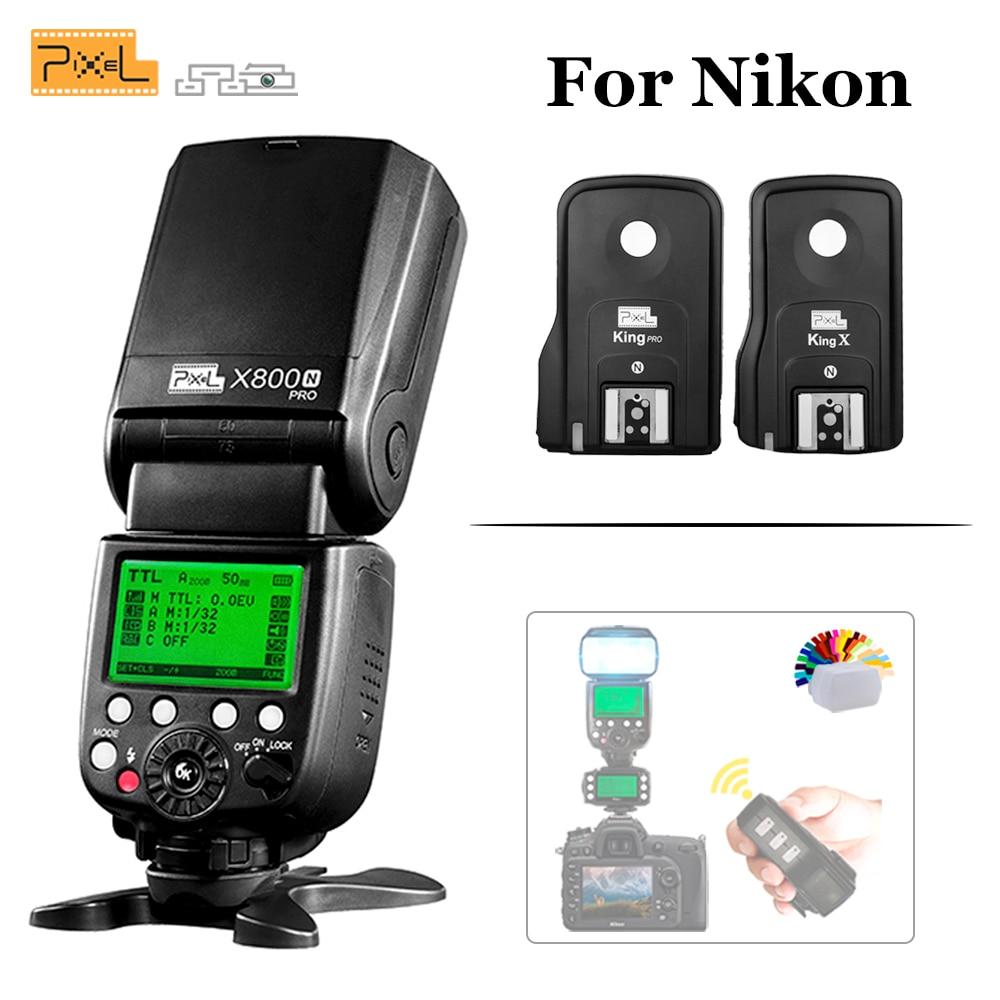Pixel X800N pro ittl TTL HSS 1/8000 s flash de sincronización de ...
