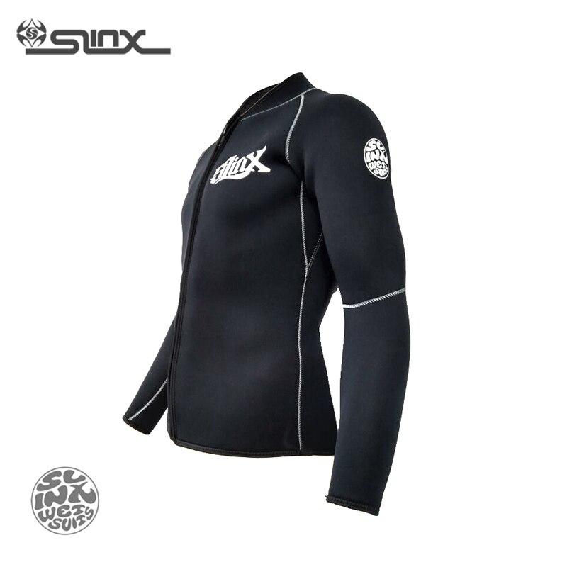 Slinx RivaRanger 1109 5mm néoprène polaire doublure veste chaude combinaison cerf-volant surf planche à voile maillots de bain nautisme plongée sous-marine - 4